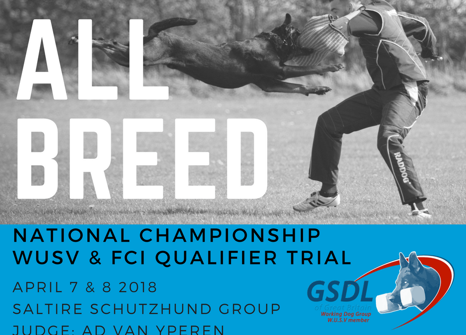 All Breed National Championships & FCI/WUSV Qualifier Trial