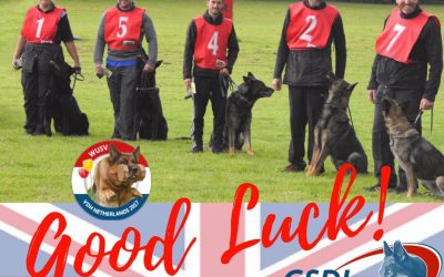 Good Luck Team GB at the WUSV !