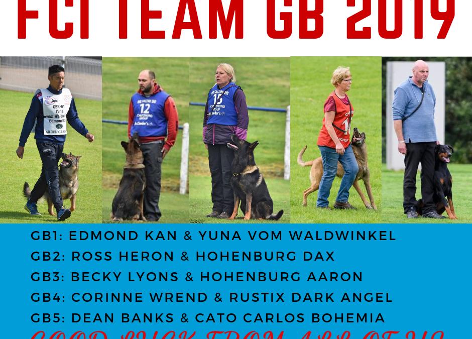 FCI WM – Team GB