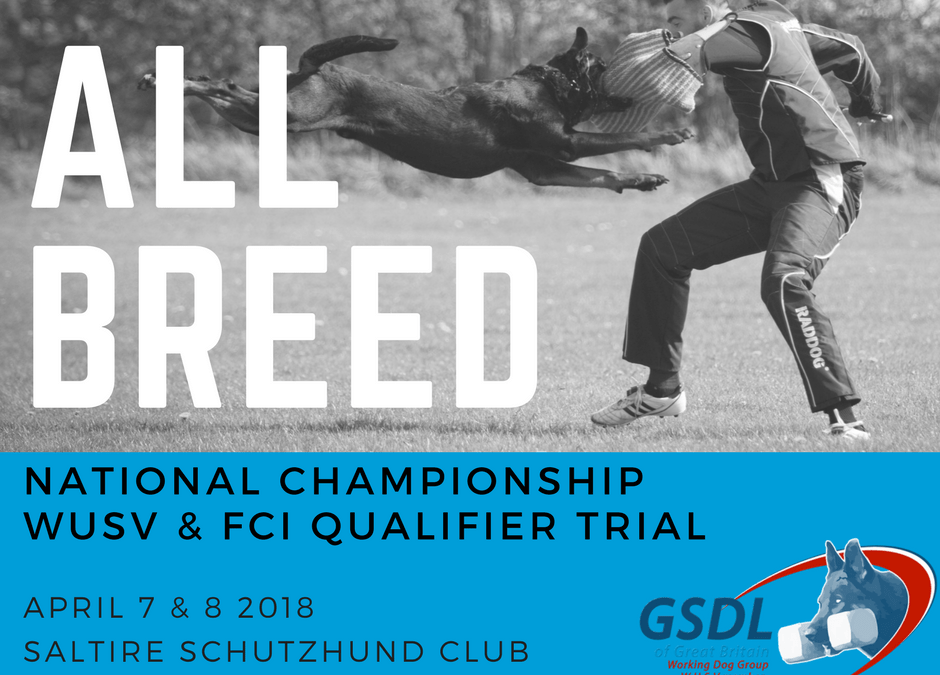 All Breed Nationals & Qualifier Trial