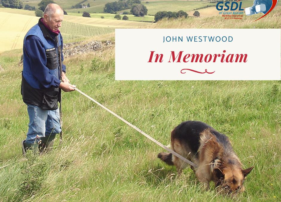 In Memoriam – John Westwood